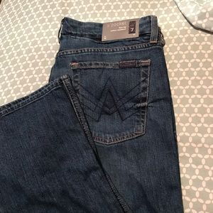 """7 For All Mankind """"A"""" Pocket.  New with tags"""